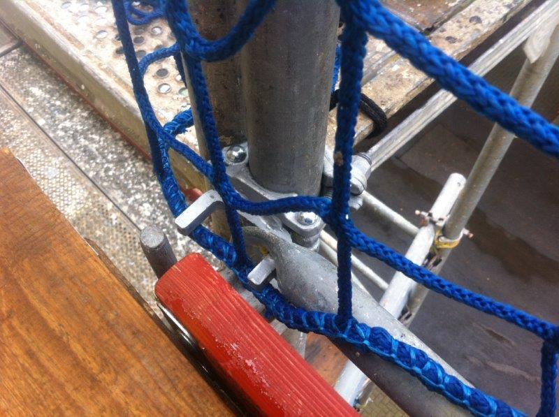 Kupplung für Dachfangnetze 1