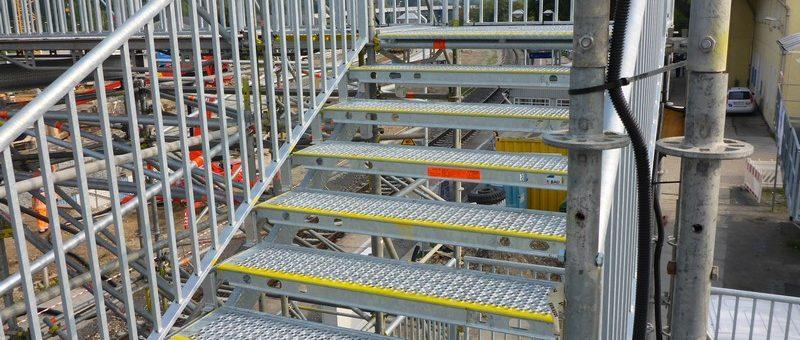 Der Treppenturm – das Gerüst für den Notfall